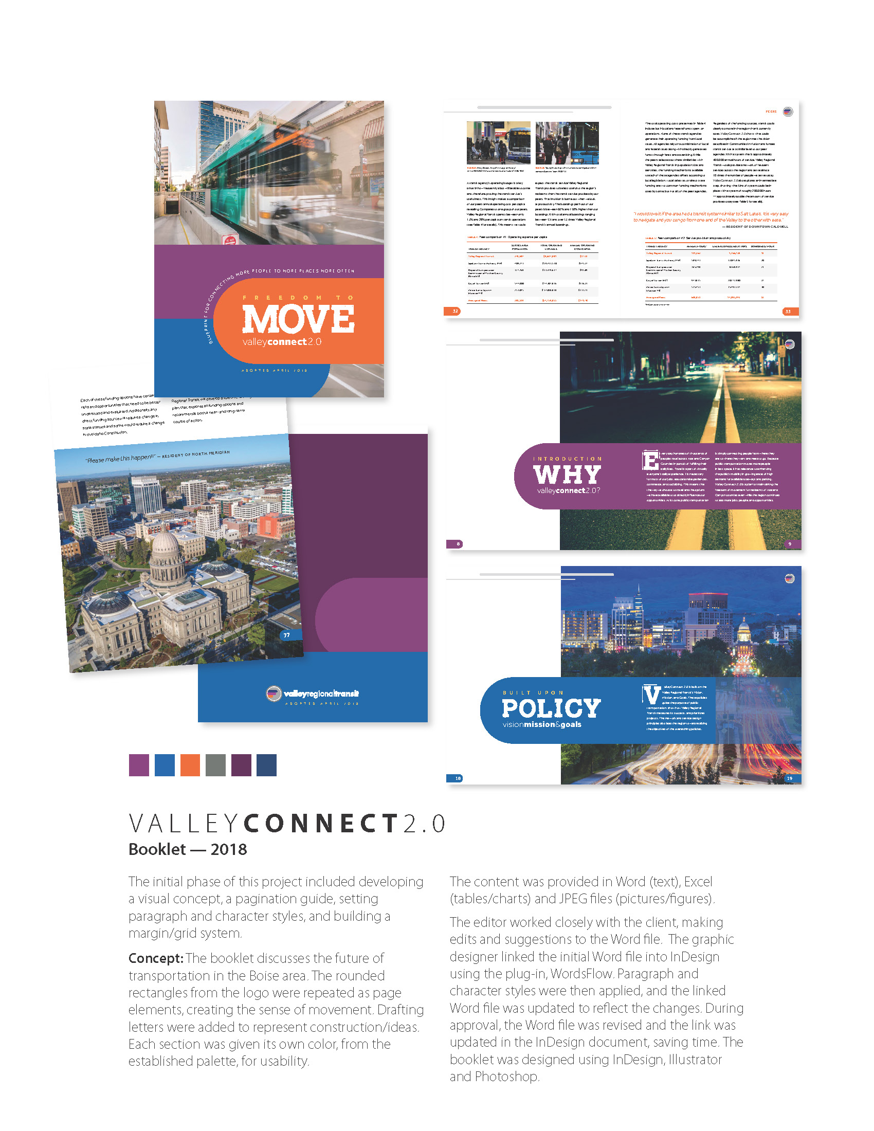 Valley Transit Booklet